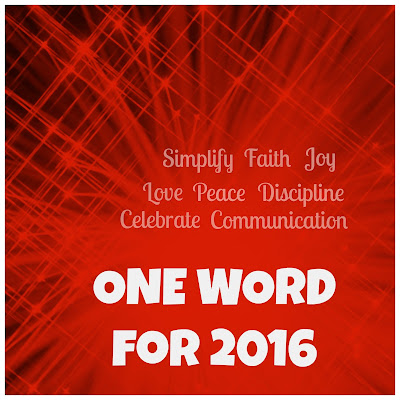 "My One Word for 2016 is ""Celebrate"" - Homeschool Coffee Break @ kympossibleblog.blogspot.com"