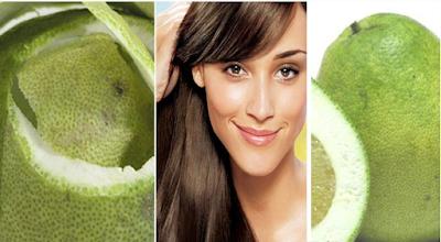 Mengatasi Rambut rontok yang efektif dengan kulit jeruk