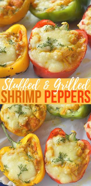 Stuffed Peppers (Shrimp Stuffed Peppers Recipe)