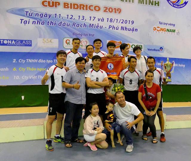 Cúp Bidrico 2019: Green Spaces đăng quang xứng đáng!