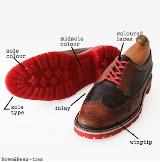 Greenwhich Vintage Co, Men's Fashion, Wingtips, shoes