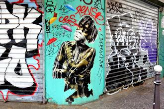 Sunday Street Art : Eddie Colla - rue Rambuteau - Paris 1