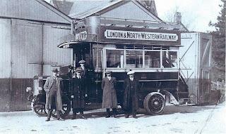 L&NWR LNWR bus