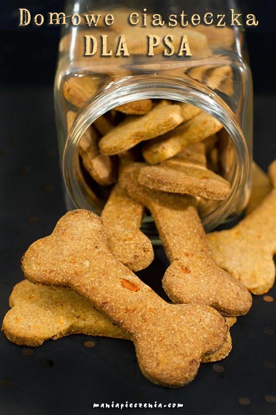 Domowe ciasteczka dla psa