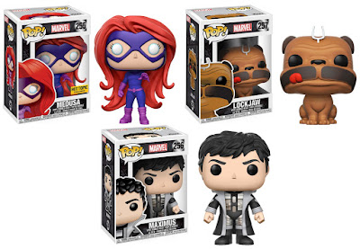 Inhumans Pop! Marvel Vinyl Figures by Funko - Medusa, Lockjaw & Maximus