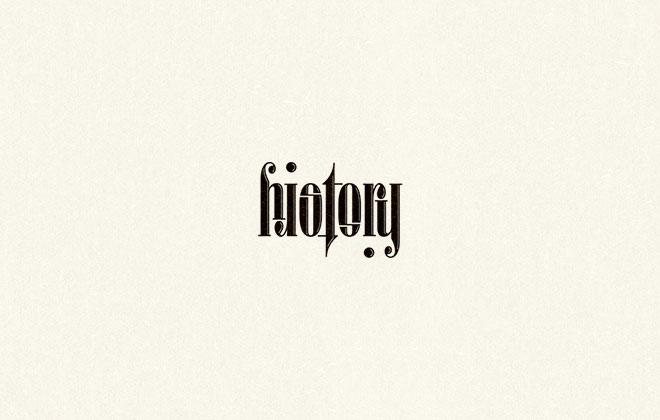 Pengertian Ambirgam, Inspirasi Desain Logo Ambigram - History Logo Ambigram