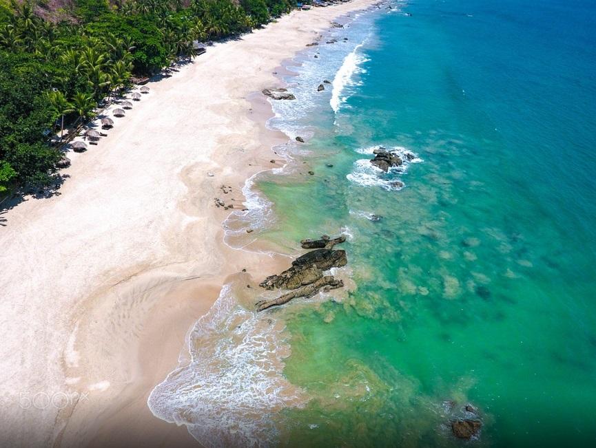 myanmar beach and islands