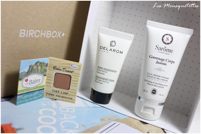 Birchbox août 2015 Back to Cool - Les Mousquetettes©
