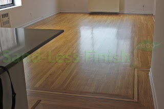 Green Wood Floor Refinishing, NYC