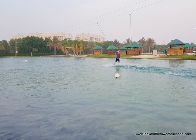 Wakeboarding Lake at Al Forsan Sports Resort