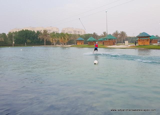 Wakeboarding Lake at Al Forsan Sports Resort