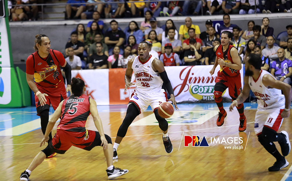 Ginebra eliminates San Miguel, 100-97 (PBA Quarterfinals) Nov 24