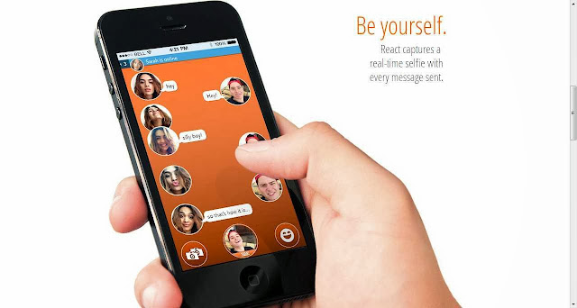 Capture & send each new and real-time selfie, every time in your chat or instant messaging on iOS7 or later