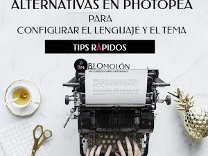 Alternativas En Photopea Para Configurar El Lenguaje Y El Tema