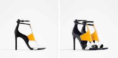 Lista de ideas para regalar a personas especiales, zapatos amarillo de zara