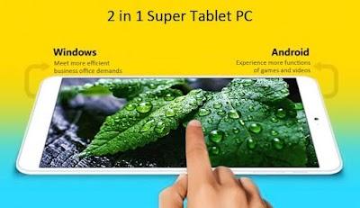 شارك في مسابقة بسيطة جدا وكن من بين ( 3 فائزين ) بالحاسوب اللوحي الرائع Onda V820w الدي به نظامين Windows 10+Android 4.4