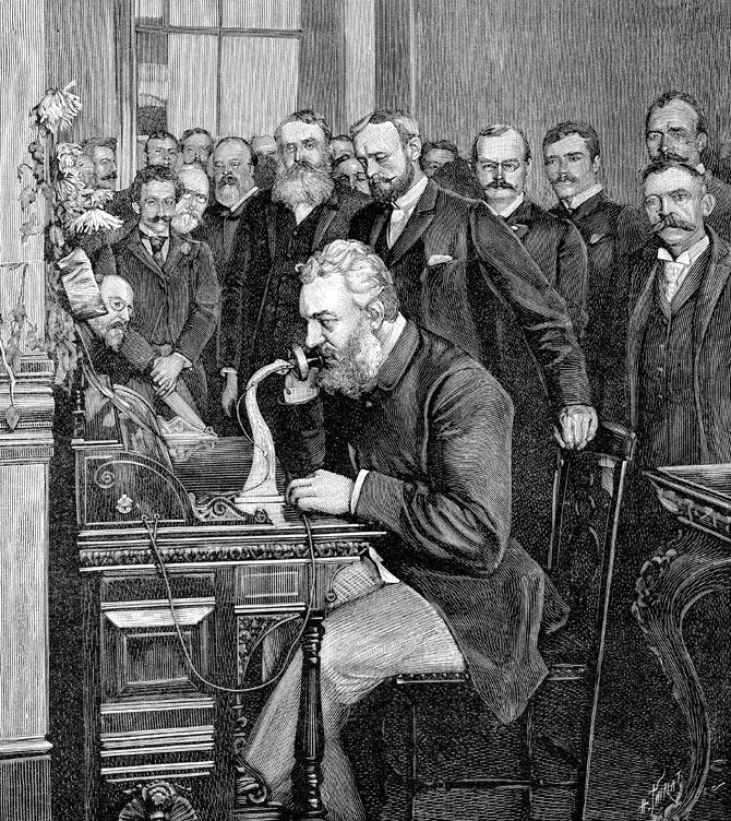 ผลการค้นหารูปภาพสำหรับ อเล็กซานเดอร์ เกรแฮม เบลล์ (Alexander Graham Bell)