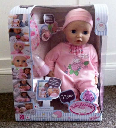 My Little L Christmas Gift Guide Baby Annabell Doll