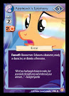 MLP Applejack´s Epiphany Absolute Discord CCG Card