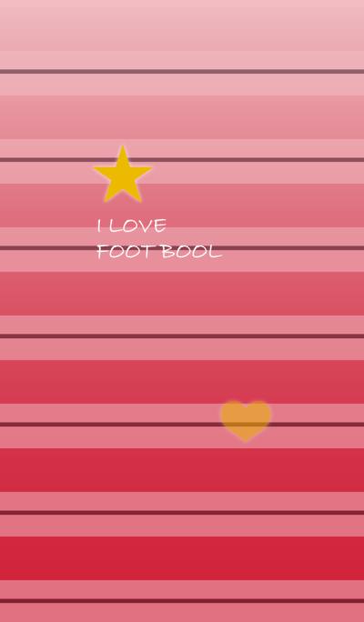 赤ストライプサッカーユニ