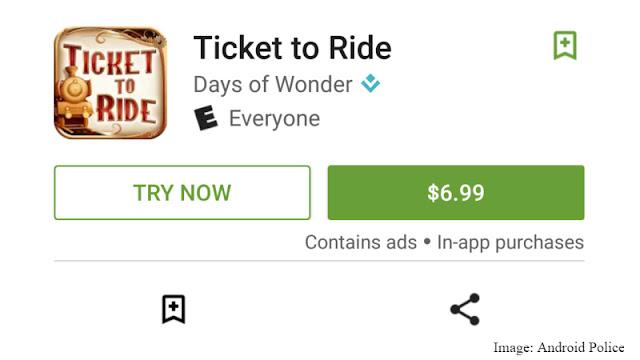 جديد : جوجل بلاي يتيح تجربة الألعاب المدفوعة بالمجان