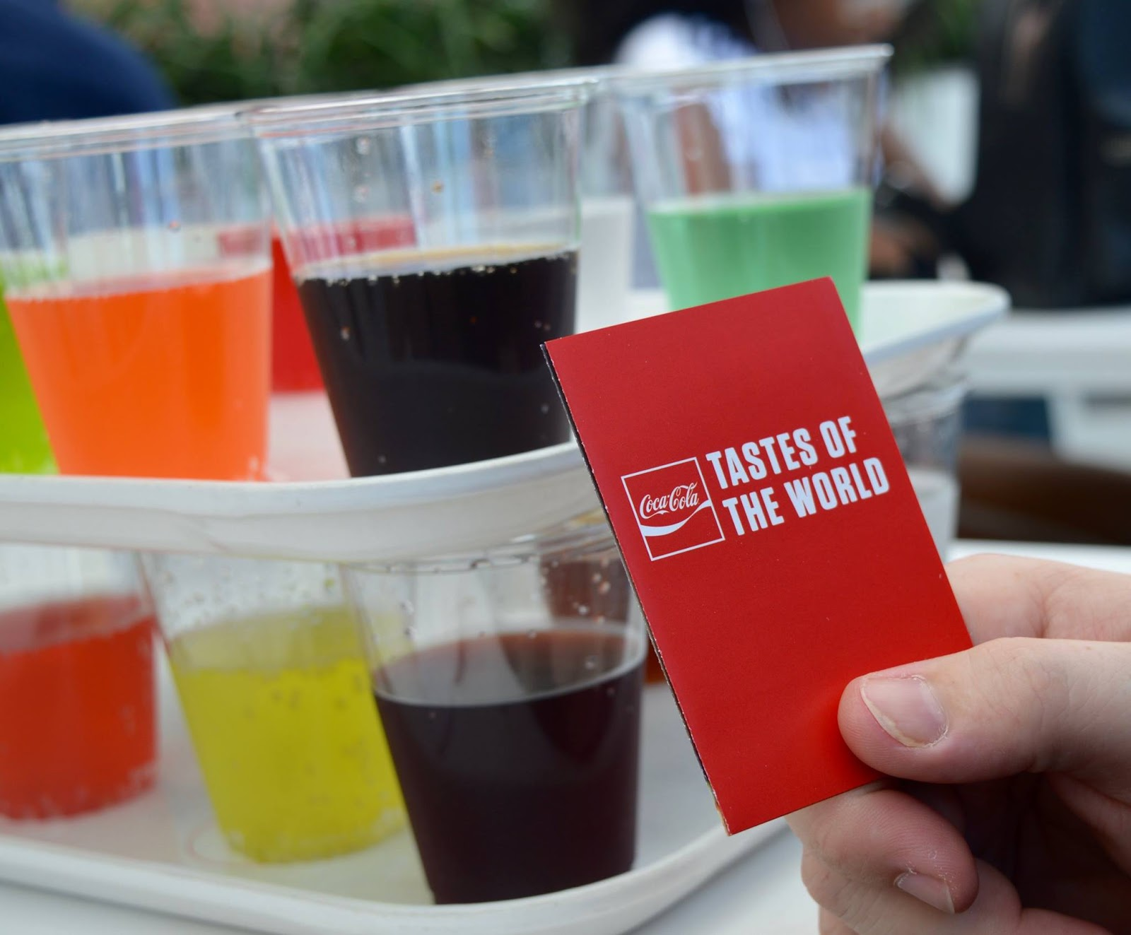 11 Things to do with Kids at Disney Springs Orlando, Florida  - coca cola tasting tray