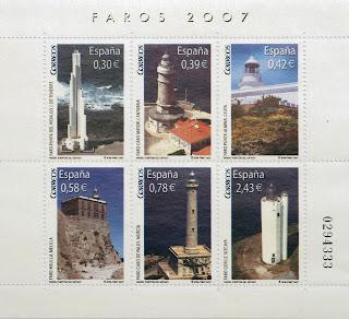 FAROS PUNTA DEL HIDALGO, CABO MAYOR, PUNTA ALMINA, FARO DE MELILLA, CABO DE PALOS Y EL FARO GORLIZ