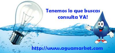 Aguamarket, productos y servicios