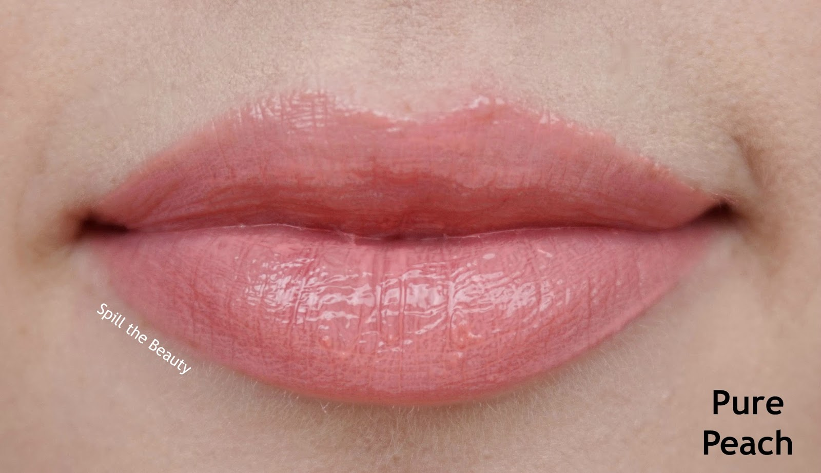 Too Faced gloss pure peach