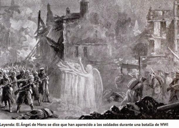 angel ww3 - Ovnis, Angeles y fenómenos paranormales de la primera guerra mundial