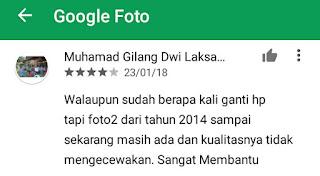 cara mengunggah photo ke google