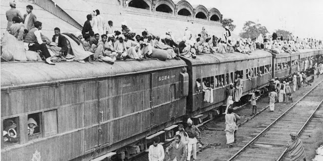 The Great Indian partition of 1947 and Now
