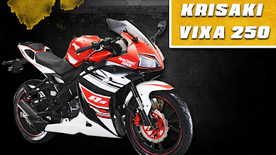 Krisaki Vixa 250cc sport bike Hd Image