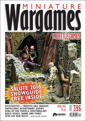 Miniature Wargames 396, April 2016