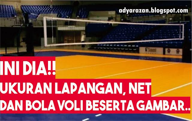 orang ini adalah olahraga yang sangat populer di Indonesia Ini Dia Ukuran Lapangan, Tiang dan Net Bola Voli Beserta Gambarnya