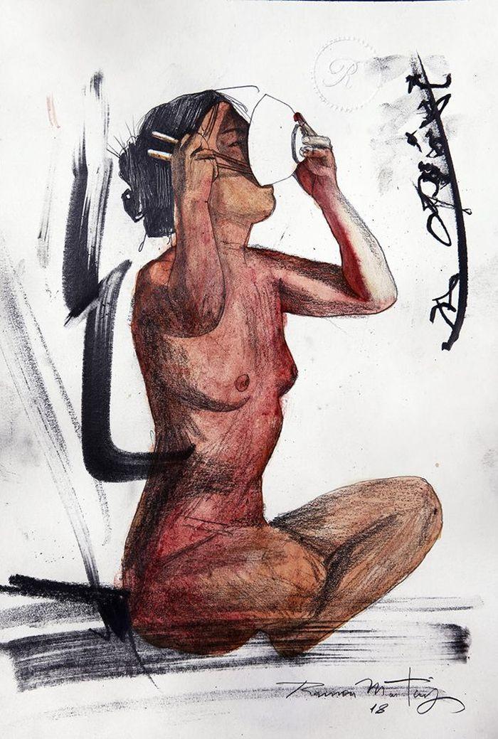 Бразильский художник.