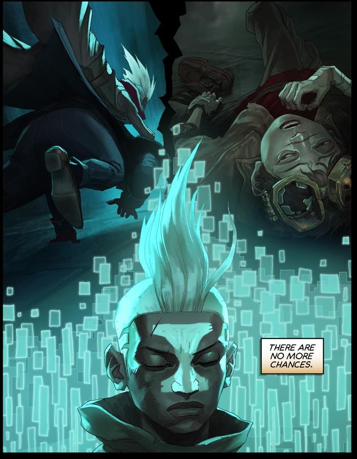 Ezreal Hd Wallpaper Surrender At 20 Ekko Chronobreak Comic