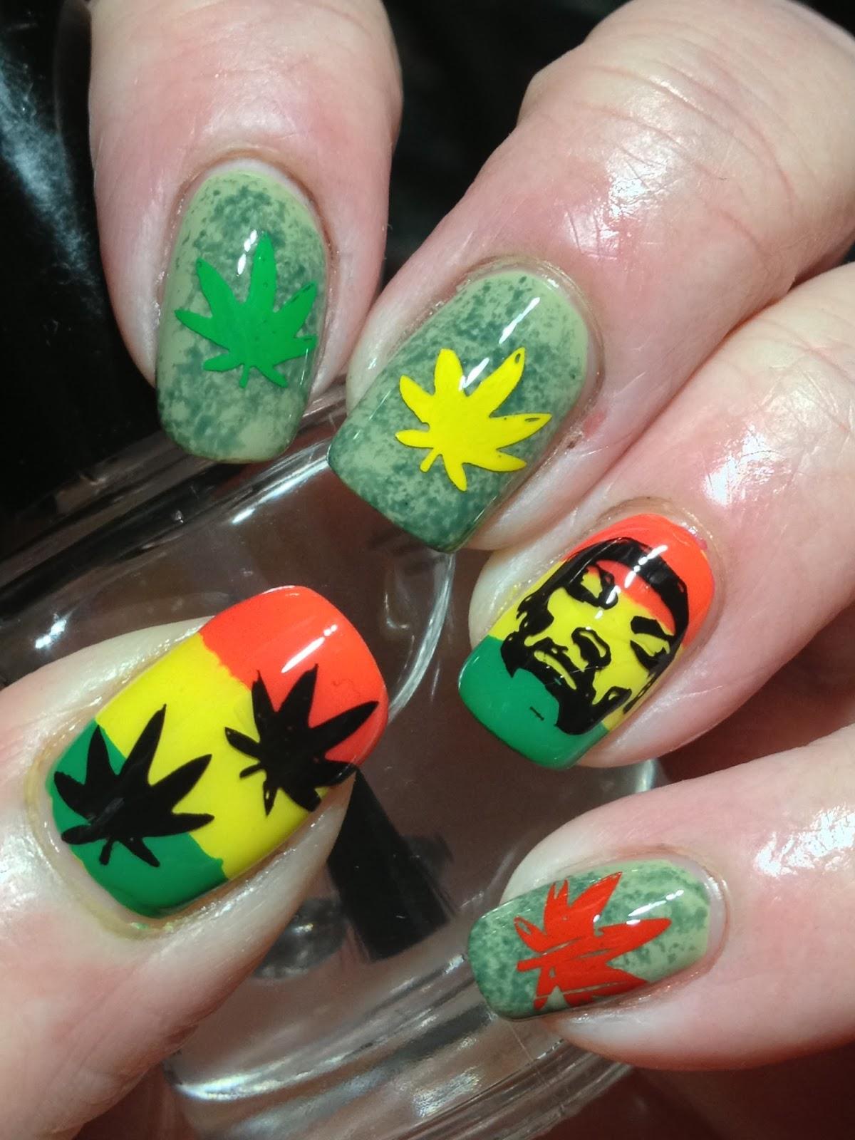 Canadian Nail Fanatic: 40 Great Nail Art Ideas Does Music