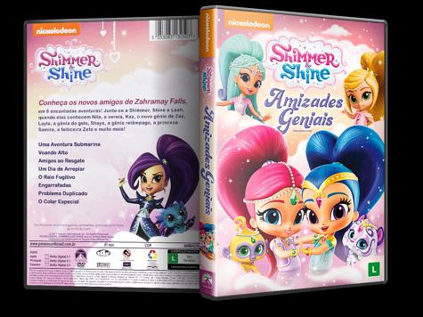 Capa DVD Shimmer & Shine: Amizades Geniais