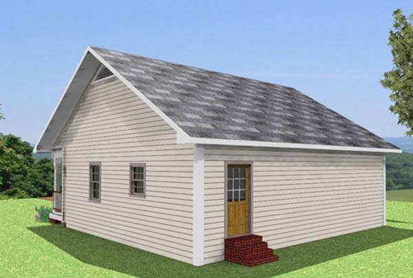 Model Rumah Gudang Garam Sederhana Wild Country Fine Arts
