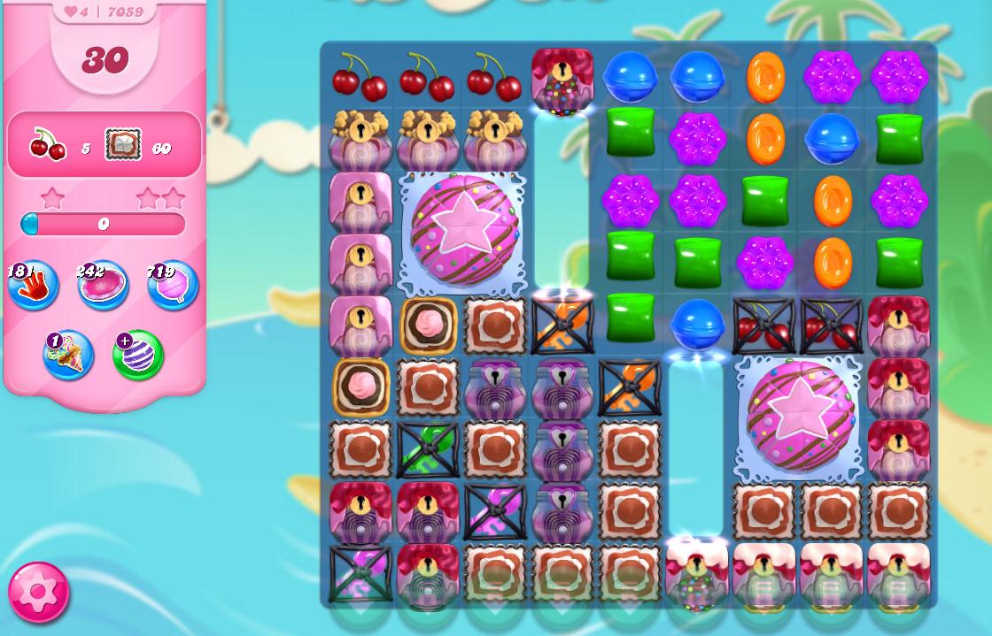 Candy Crush Saga level 7059