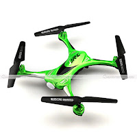 JJRC H31 quadcopter Green Top view