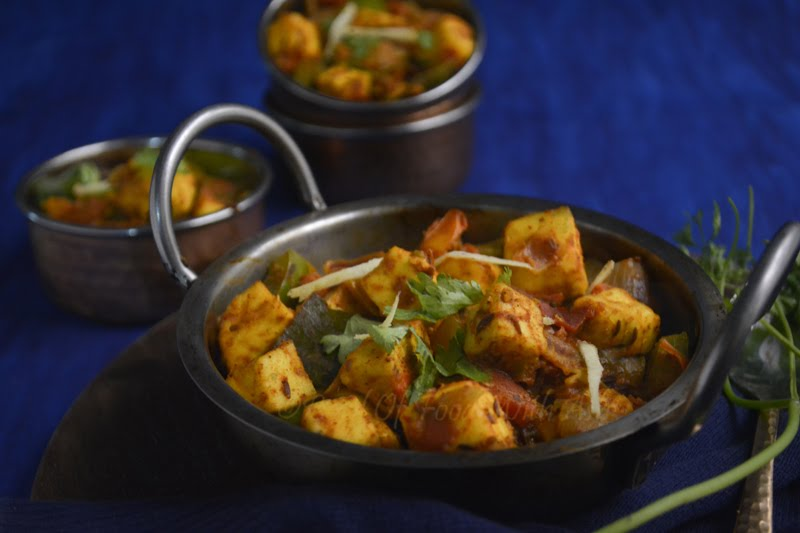 Kadai Paneer Recipe | How To Make Restaurant Style Kadai Paneer Recipe