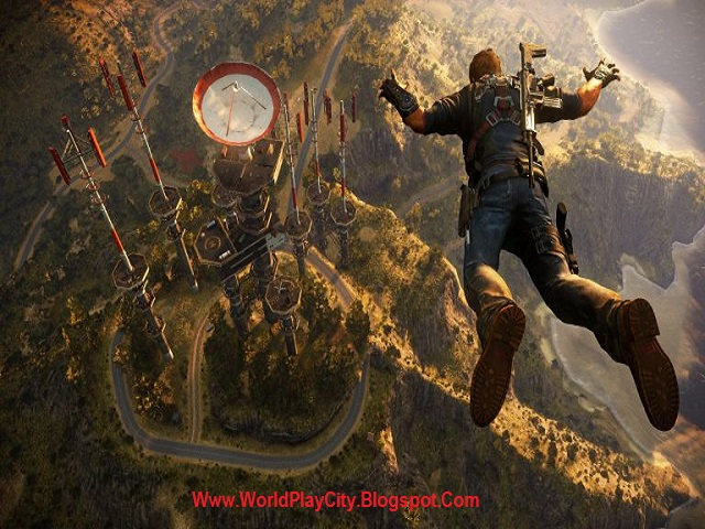 Just Cause 3 PC Game Highly Compressed free Download