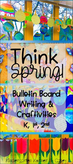 Spring Activities for Kindergarten or First Grade