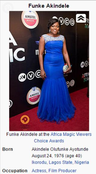 Did Funke Akindele Lie About Her Age , Is She 40 or 44 years Old !