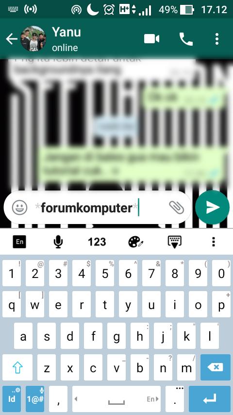 7 Daftar Kode Rahasia dan Cara Membuat Tulisan Di WhatsApp Menjadi Keren Dan Gaul
