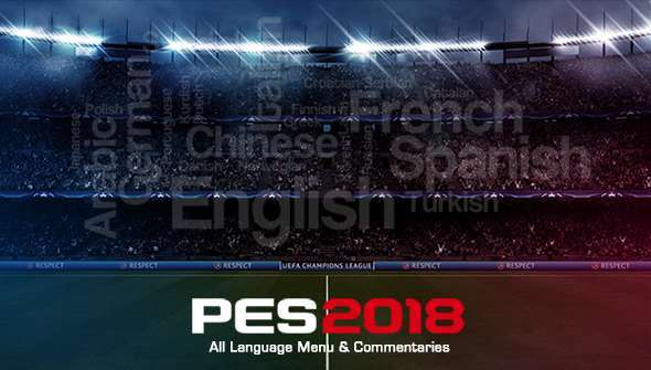 Additional Languages & Commentaries PES 2018
