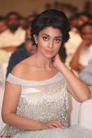 Shriya Saran in Stunning White Off Shoulder Gown at Nakshatram music launch ~  Exclusive (114).JPG