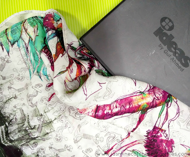 Ideas by Gul Ahmed New Collection: Digital Dreams Nautica